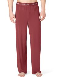 Calvin Klein Mens Body Modal Pajama Pants - Lyst