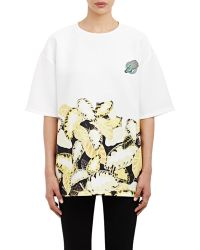 Opening Ceremony Oversize Short-Sleeve Top white - Lyst