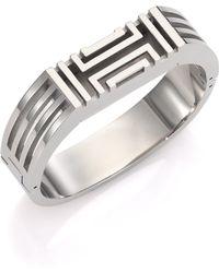 Tory Burch For Fitbit Bangle Bracelet/Silvertone - Lyst