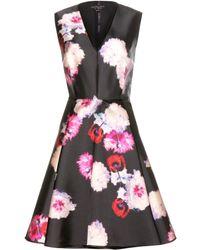 Giambattista Valli Printed Silk Twill Dress - Lyst