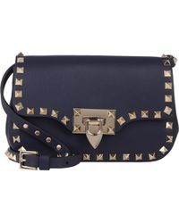 Valentino Rockstud Small Crossbody Bag - Lyst