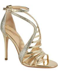 Ivanka Trump Hayze 2 Metallic Heels - Lyst