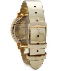 Shashi - Gleam Watch - Gold - Lyst