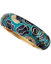 Sequin - Large Camo Enamel Bangle - Lyst