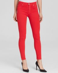 Hudson Jeans - Barbara Ankle In Larkspur Red - Lyst