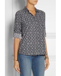 Splendid Hingham Floral-Print Twill Shirt - Lyst
