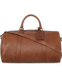 Polo Ralph Lauren Classic Leather Duffel Bag - Multicolor