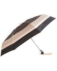 Marc Jacobs Polka Dot Umbrella - Coral - Black