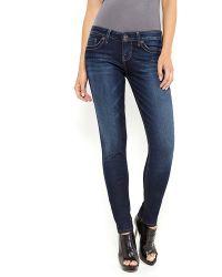 Guess Dark Wash Power Ultra Skinny Jeans - Lyst