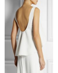 Rime Arodaky Dree Satintwill Top - White