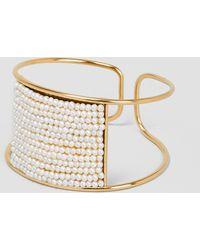 Medecine Douce - Knit Maxi Bangle Gilded Brass - Lyst
