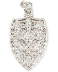 Armenta | New World Cravelli Champagne Diamond Shield Enhancer | Lyst