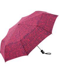 Uniqlo - Sprz Ny Compact Umbrella (keith Haring) - Lyst