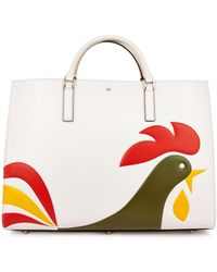 Anya Hindmarch Cornflakes Maxi Featherweight Ebury Tote - Lyst