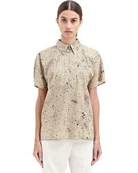Damir Doma New Season - Womens Zipped Kimono Sleeve Zipped Shirt - Lyst