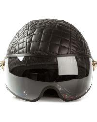 Versace Quilted Medusa Helmet - Lyst