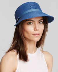 August Accessories - Chains & Ribbons Framer Hat - Lyst