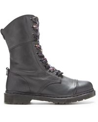 Dr. Martens Aimilita Fold Down Floral Lined Boots - Lyst