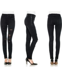 Joe's Jeans High Rise Skinny - Lyst