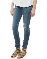 Citizens of Humanity Racer Low Rise Skinny - Lyst