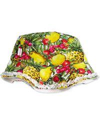 Seafolly - Tutti Cutie Tropical-print Swim Hat - Lyst