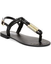 Steve Madden Sparta Sandals black - Lyst