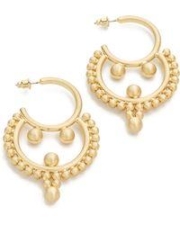 Amber Sceats   Hermoine Earrings - Gold   Lyst