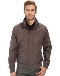 Calvin Klein Weather Resistant Bomber Jacket - Lyst