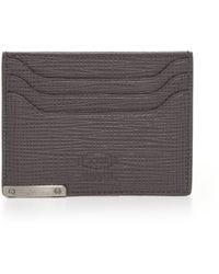 Tod's | Textured Leather Credit Card Case | Lyst