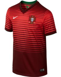 Nike Kids Portugal World Cup Home Stadium Jersey - Lyst