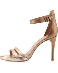 Joie Jena Metallic Dorsay Sandal - Lyst