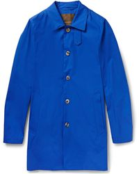 Mackintosh Laggan Cotton-Twill Rain Coat - Lyst