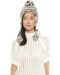 Eugenia Kim Skye Hat - Creamblack - Lyst