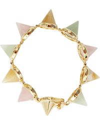 Eddie Borgo | Gem Stone Cone Bracelet | Lyst