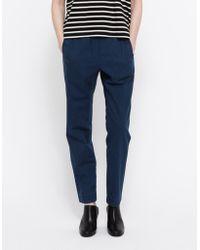 A.P.C. Pantalon Countryside blue - Lyst