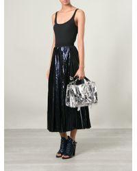 Proenza Schouler Medium 'Ps1' Shoulder Bag silver - Lyst