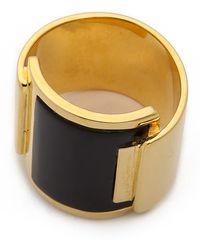 Maiyet - Foldover Ring - Black Horn - Lyst