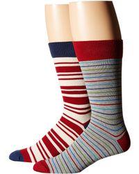 Pact Crosswalk Crew Sock 2-pack - Multicolor