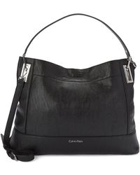 Calvin Klein Reversable Hobo Bag - Lyst