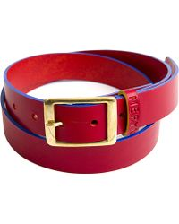 Meryn - The Henley Belt Red & Blue - Lyst