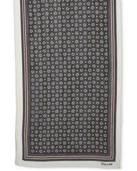 Pollini - Printed Silk Scarf - Lyst