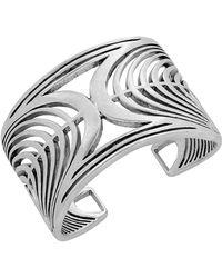Lucky Brand Structural Open-cuff Bracelet - Metallic
