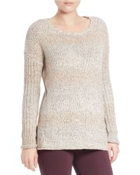 Sanctuary - Marled Knit Pullover - Lyst