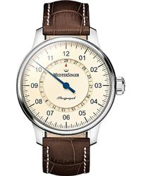 Meistersinger - Am1003 Perigraph Stainless Steel Watch - Lyst