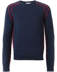JW Anderson - Stitching Detail Sweater - Lyst