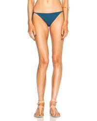 Mara Hoffman Tie Side Bikini Bottom - Lyst