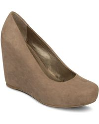 Fergie | Fergalicious Shoes Dreamer Wedge Platform Pumps | Lyst