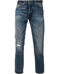 Levi's Blue 505 Jeans - Lyst
