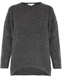 Helmut Lang Soft Grid Wool-Blend Sweater - Lyst