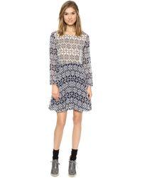 Paul & Joe Sister Islande Dress  Knit Print - Lyst
